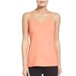 NWT Zella Coral Jewel Athletic Tank Top